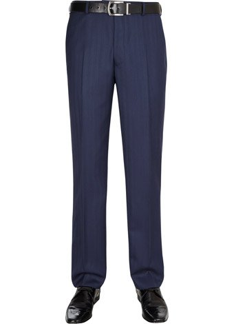 Austin Reed Contemporary Fit Herringbone Trousers SHORT MENS 34