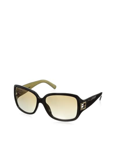Fendi Women's Sunglass, Black /Flash Gold, One Size