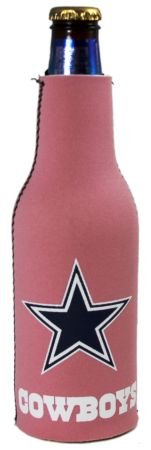 DALLAS COWBOYS PINK BOTTLE SUIT KOOZIE COOLER NEW at Amazon.com