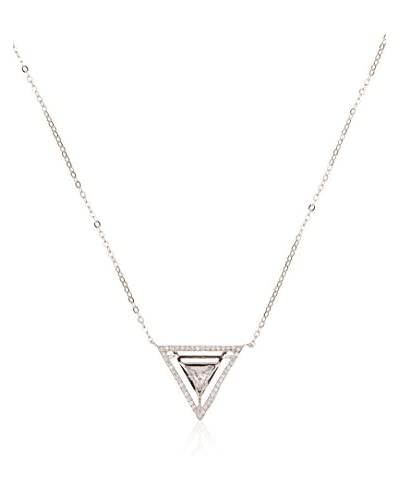 ANDREA BELLINI Collana Triangle Constellé argento 925
