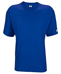 Russell Athletic Men's Athletic Crew Neck Tee - Royal - 4XL