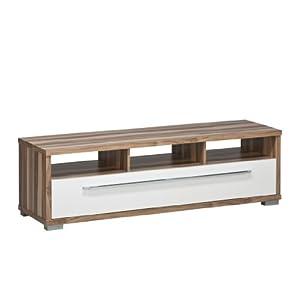tv m bel top angebote maja 76452835 tv bank 1412 x 420 x 400 mm baltimore nussbaum nachbildung. Black Bedroom Furniture Sets. Home Design Ideas
