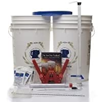 Maestro Homebrew Beer Equipment Kit w/ Auto Siphon from Monster Brew Home Brewing Supplies