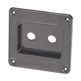 Penn-Elcom M1500 Double 1/4 Jack Plate