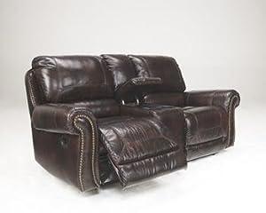 Surprising Dexpen Double Reclining Loveseat With Console Power Creativecarmelina Interior Chair Design Creativecarmelinacom