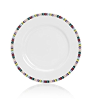 Graphic Spotted Dinner Plate