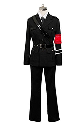 [Japan Cosplay] Togainu no Chi Shiki Military uniform Costume Womens