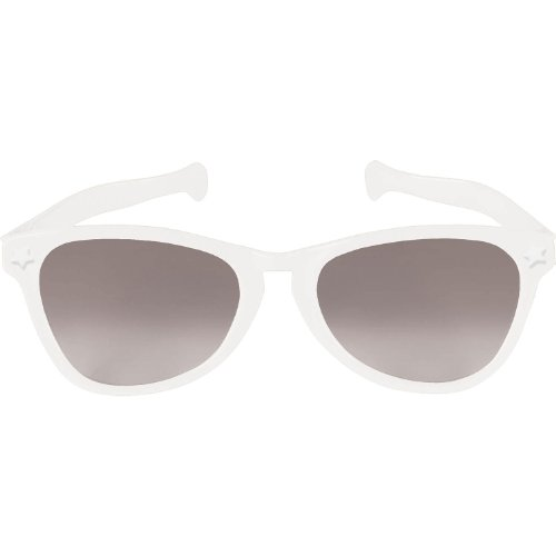 White Jumbo Glasses