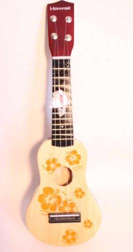 Toy NATURAL Ukulele Guitar Ukelele Ukalele w Pick Uke