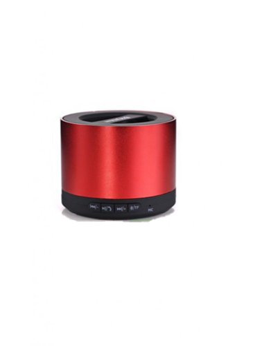 Blue Melody Best Potable Mini Top Rated Stereo Travel Wireless Bluetooth Speaker For Apple Iphone Ipad Ipod Samsung Motorola Philips Laptop Sd Card Bl-N9 Red