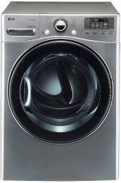 LG DLGX3471V SteamDryer 7.3 Cu. Ft. Graphite Steel Stackable With Steam Cycle Gas Front Load Dryer