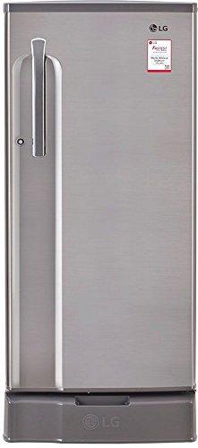 LG GL-D191KPZU 188L 1S Single-door Refrigerator (Shiny Steel)