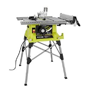 Factory Reconditioned Ryobi Zrrts21g 10 In Portable Table Saw With Quick Stand