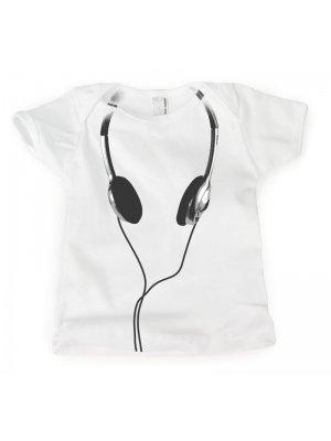 Toddler Headphones Tee Shirt