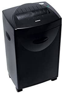 Aurora AS1040C 10 Sheet Micro shred JAMFREE Crosscut Paper Shredder with Pullout Basket and Casters