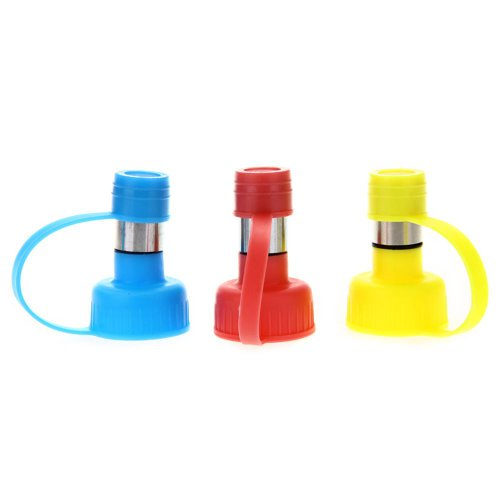 Dispenser Distributore Acqua in Plastica Acciaio Inox per Cani Gatti