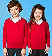 Outstanding Value Unisex Pure Cotton Jumper with Stay New™
