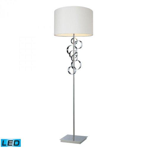 Special Price 60 Avon Led Floor Lamp In Chrome Finish Top Floor