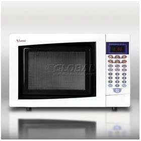 Summit Sm900w Mid-Sized Microwave Oven With A Fully White Finish
