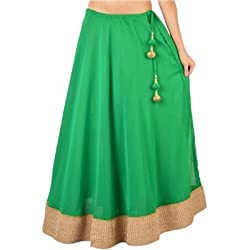 FASHION By The BrandStand Women Skirt Grn-L