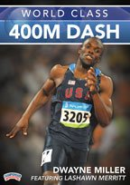 Buy Dwayne Miller: World Class 400M Dash (DVD) by Championship Productions