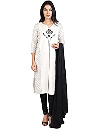 Vastra Vinod Women's Cotton Straight Salwar Suit Set - B071S26R36