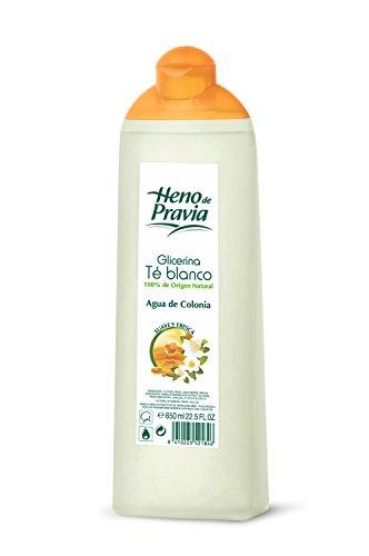 Heno de Pravia Acqua di Colonia, Glicerina & Té Blanco Edc 6, 50 ml