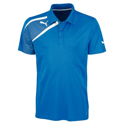 Puma Spirit Mens Training Polo Tee Shirt Royal Size Large by Puma