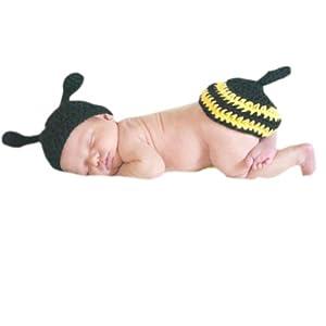 Zehui - Disfraz de ganchillo para bebé, diseño de animales