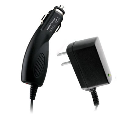 2 Item Combo Microusb Home Wall Ac Charger And Slim Car Charger For Motorola Milestone X2 front-46692