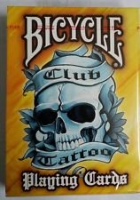Bicycle Yellow Tattoo Playing Cards