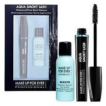 Make Up Forever Aqua Smoky Lash Waterproof Black Mascara Kit