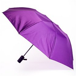 Purple On-the-Go Umbrella, Folding Automatic
