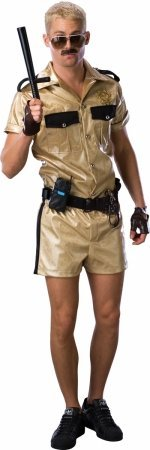 Costumes For All Occasions Ru888753 Reno 911 Lt Dangle Deluxe Adul