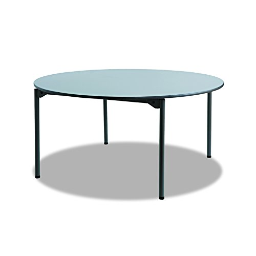 Iceberg ICE65867 Maxx Legroom Melamine Laminate Round Folding Table, 60