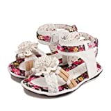 Girls Sandals Flower Shoes Size 9 Us