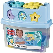 Mega Bloks Pastel Spin 'N Sorter Bucket (0591)