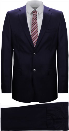 Versace Collection Men's Two-Piece Suit Navy Blue (UK 40 / EU 50)