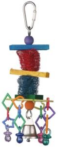 Super Bird Creations Little Loofa 6×2.5in Bird Toy