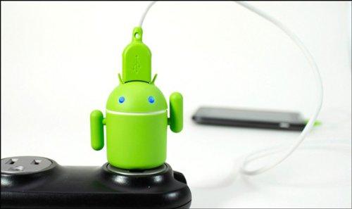【PSE取得済】ドロイド君 USB チャージャー(Andru USB Phone Charger)【日本語パッケージ】