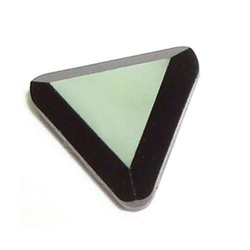 Swarovski HotFix Crystals~6mm Jet Triange~by the Gross