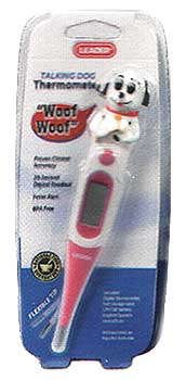 Leader Thermometer Flex-Tip Talking Digital Dog 1 Ea