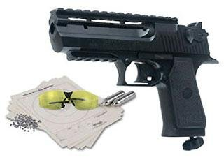 Magnum Research Baby Desert Eagle BB gun kit air pistol