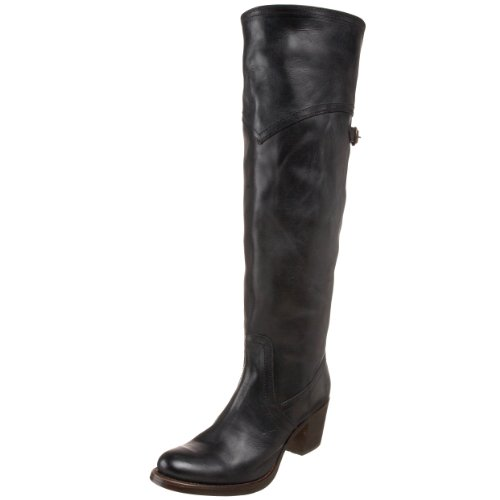 Frye Jane Tall Cuff Womens Knee High Boots Jane Tall Cuff Black 8 UK, 41 EU, 10 US