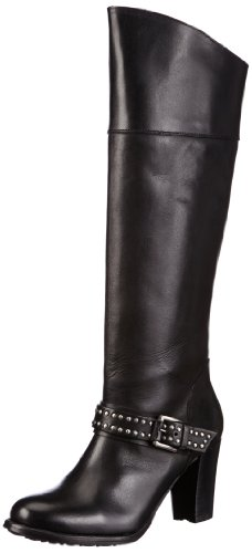Buffalo London 1017-4 N COW Boots Womens Black Schwarz (BLACK 01) Size: 5 (38 EU)