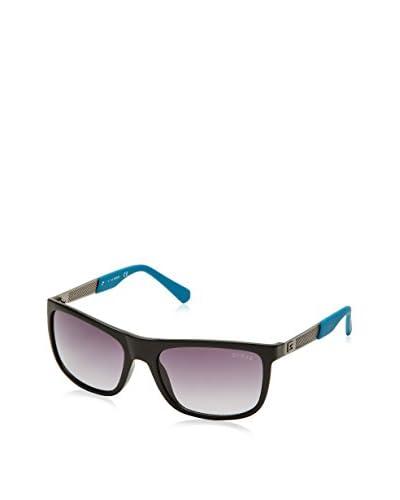 Guess Sonnenbrille GU 6843 (57 mm) schwarz/türkis