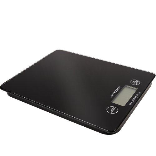 Jago® balance de cuisine numerique digitale - max 5000g - graduation 1g - en verre