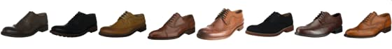 Ben Sherman Men's Qewy Low Wing Brougue Lace Up