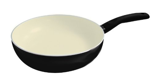 Get Cheap Jomafe 28 cm Wok E Cook, Ceramic Black - Woks & Stir-Fry ...