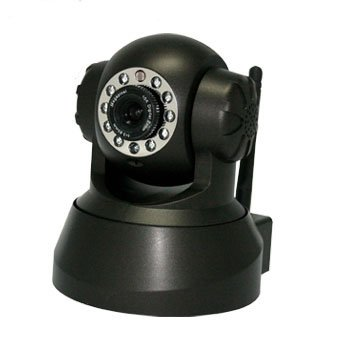 Db Power Wireless/wired Pan & Tilt Ip Camera Security Network Wifi Camera with Night Vision - Black Newest Model Free Extra Network Cable!!!